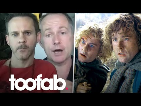 Dominic Monaghan & Billy Boyd Discuss New Podcast, Toxic Fandom, & Lord of the Rings | toofab