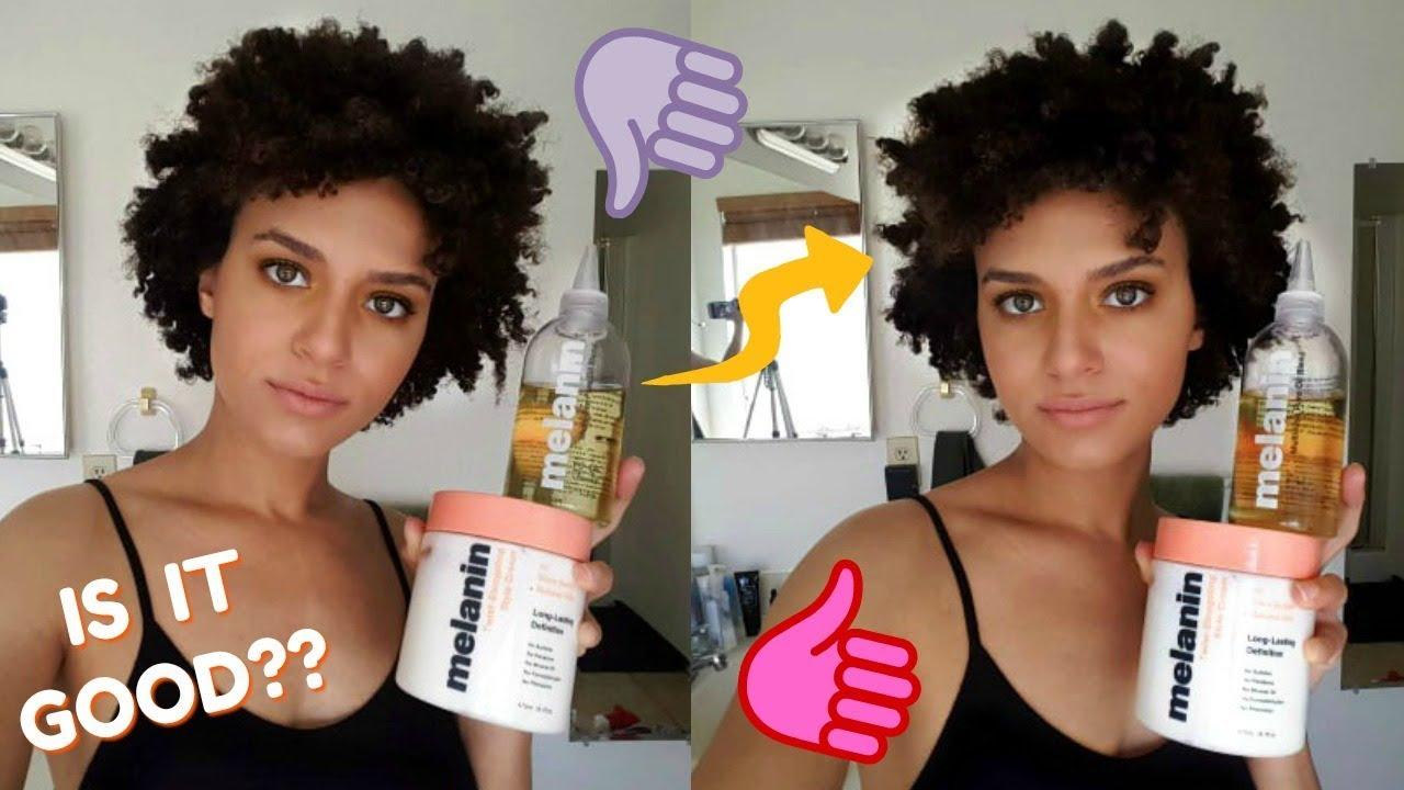 Melanin Haircare Review Naptural85 Type 4 Hair Youtube