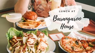 Lunch at Barangaroo House
