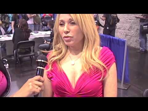 with E.G. Daily from Comic Con Anaheim