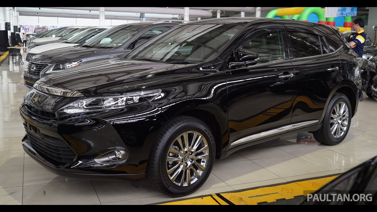 toyota harrier 2 0 premium, the top spec 2.0 litre variant called