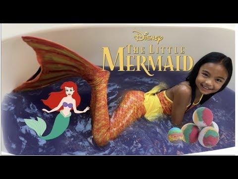 Disney Princess Ariel Transformation Splash And Surprises | Toys Academy