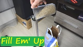 Improve sound quality by just filling speaker stands #DIY33