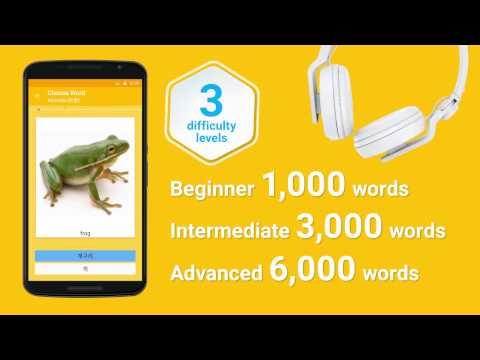 Learn Korean Vocabulary - 6,000 Words