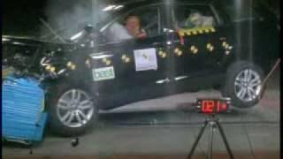 Краш-тест Audi Q7 от EuroNCAP. Фронтальный удар