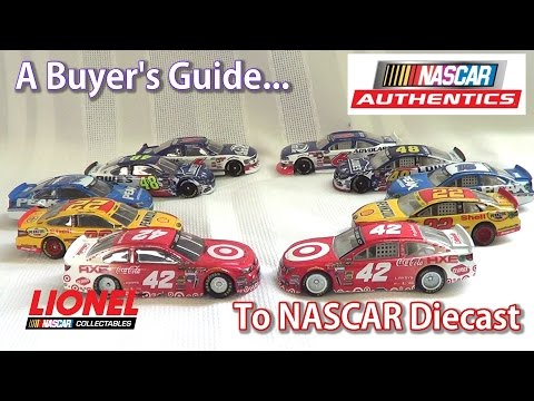 NASCAR Diecast Buyer's Guide (Spin Master vs Lionel) Where and how to buy NASCAR diecast!