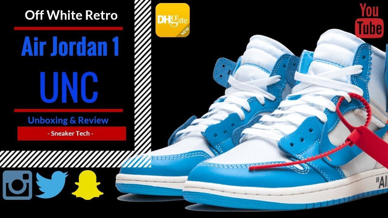 80f2f45434cb83 Nike Air Jordan 1s Off White DHGATE - YouTube