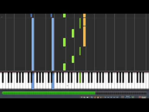 "Beethoven - ""Moonlight"" - Sonata No. 14 - 1st Movement [Synthesia Piano Tutorial]"