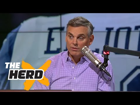 Ezekiel Elliott pulled down a woman's shirt on camera, should Dallas be concerned? | THE HERD