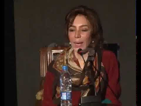 City42 Special Lahore Literary Festival Sessions Tehmina Durrani Lecture Alhamra Part 01