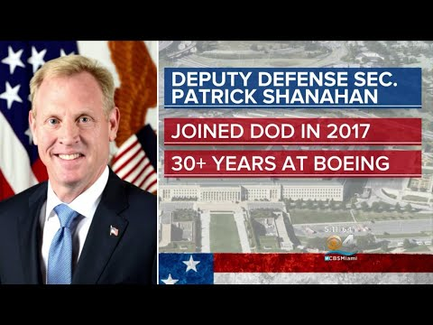 Deputy Defense Secretary Patrick Shanahan Takes Over Department