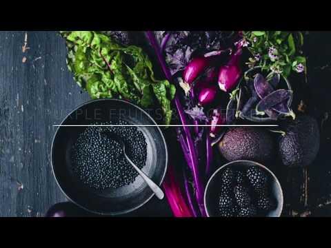 Фиолетовые фрукты, овощи, ягоды и зелень. Польза и лечебные свойства разноцветных продуктов. Purle.
