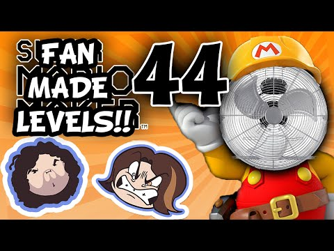 Super Mario Maker: Life of Poop - PART 44 - Game Grumps