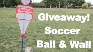 Giveaway! Soccer Ball and Wall