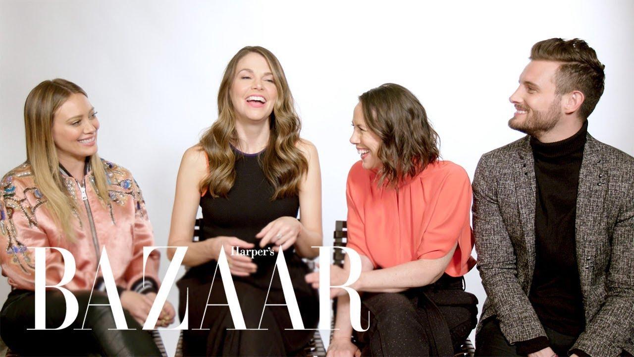 The Younger Cast Shades Millennial Trends | Harper's BAZAAR