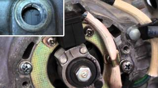 Pt.3 Honda ATC200S How To Adjust The Valves
