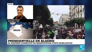"""Manifestations en Algérie : """"On n'a jamais vu ça en Algérie"""""""