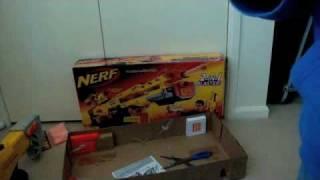 Nerf Longshot CS-6 Unboxing