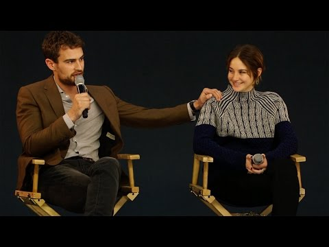 Shailene Woodley and Theo James: Insurgent Interview