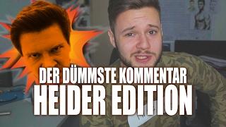 Der dümmste Kommentar | Heider Edition | inscope21