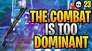 The Combat Shotgun Has Become TOO DOMINANT... (Fortnite Shotgun Tips & Tricks)