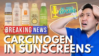 Dr. Sugai Explains: What Carcinogen was found in Sunscreens?