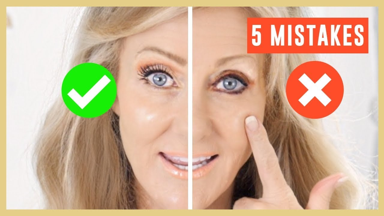10 Biggest Makeup Mistakes On Mature Eyes Tutorial Over 100  Fabulous100s