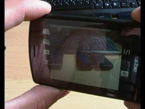 Внешний вид коммуникатора Acer be Touch E101, а также сравнение с габаритами других смартфонов и планшетника Nokia N900