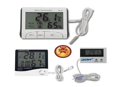 Thermometer In Swiftlet House - Digital Waterproof Thermometer IN And OUT 2020