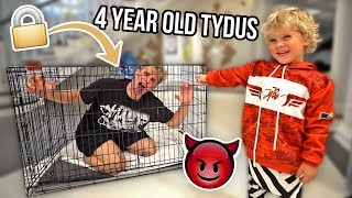 I TRIED to BABYSIT Mini Jake Paul ALONE.. Here's What Happened...