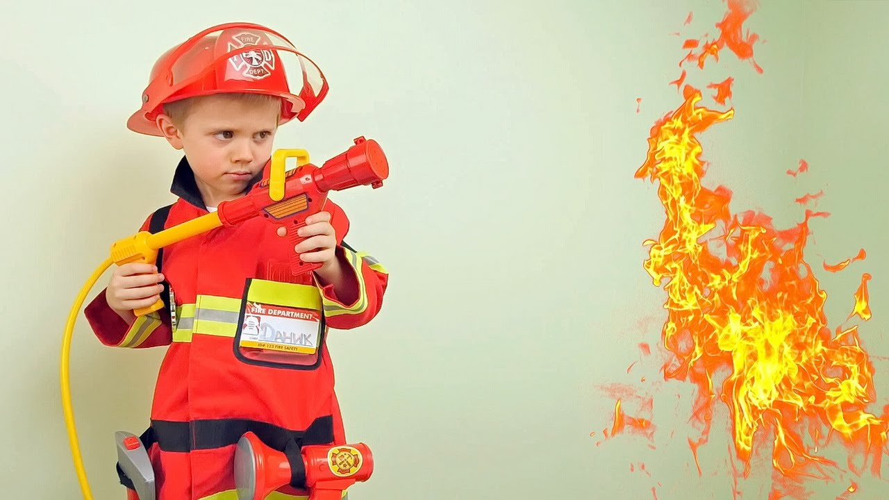 картинки пожарник для детей