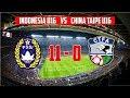 Timnas Indonesia U16 Sikat China Taipei 11-0 ● 18/6/2017