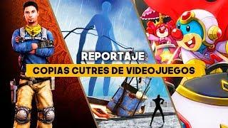 Las COPIAS MÁS CUTRES de VIDEOJUEGOS