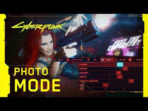Cyberpunk 2077 — Photo Mode Trailer