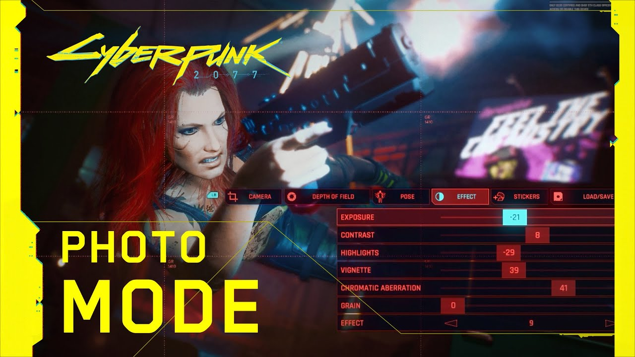 Cyberpunk 2077 Photo Mode Revealed
