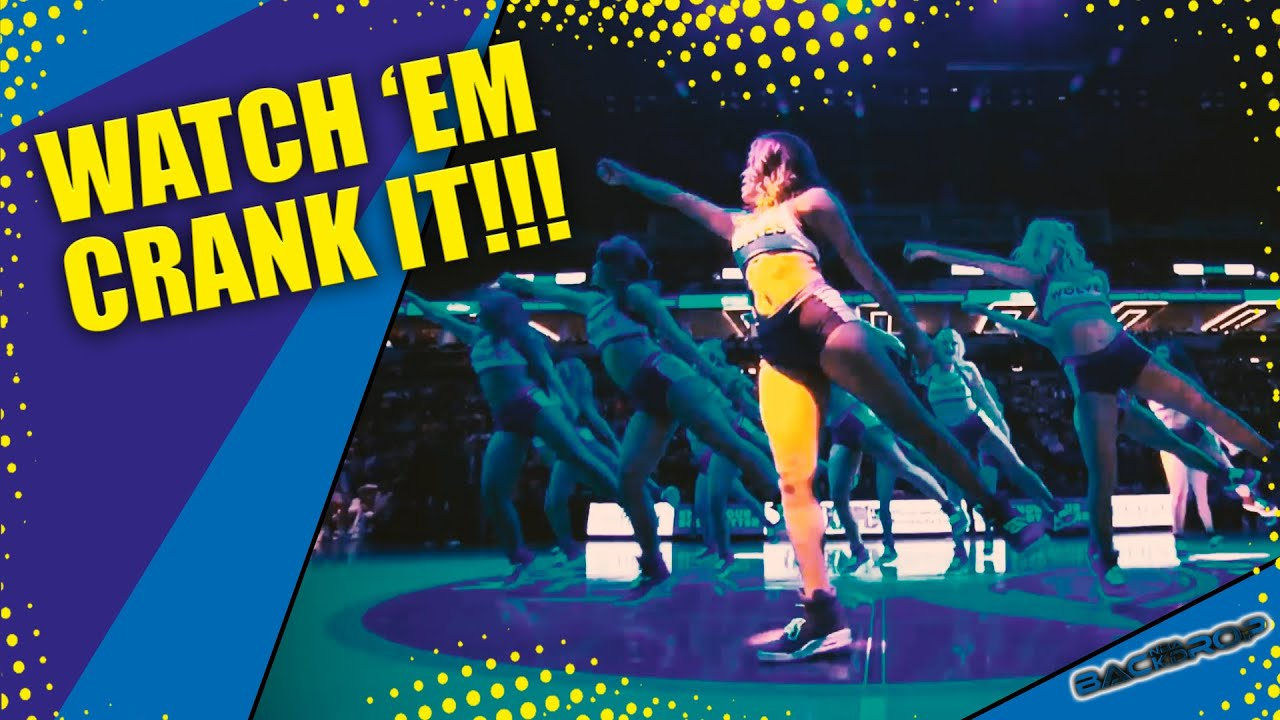 TIMBERWOLVES DANCERS | Golden State Warriors vs Minnesota | NBA Season 19/20 | November 08, 2019 ...