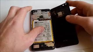 huawei p10 lite battery removed