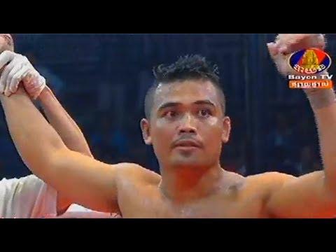 Phan Kron vs Seng Sroeun, Khmer Boxing Bayon 30 June 2017, Kun Khmer vs Muay Thai
