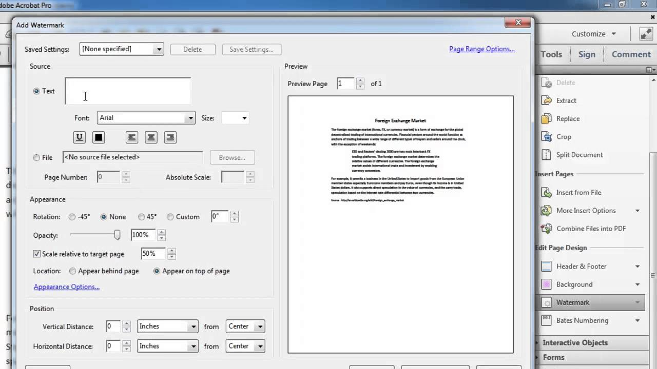 How To Add Watermarks PDF