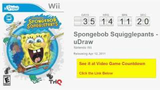 Spongebob Squigglepants - uDraw Wii Countdown