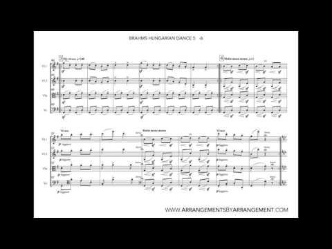 String Quartet - Brahms Hungarian Dance 5