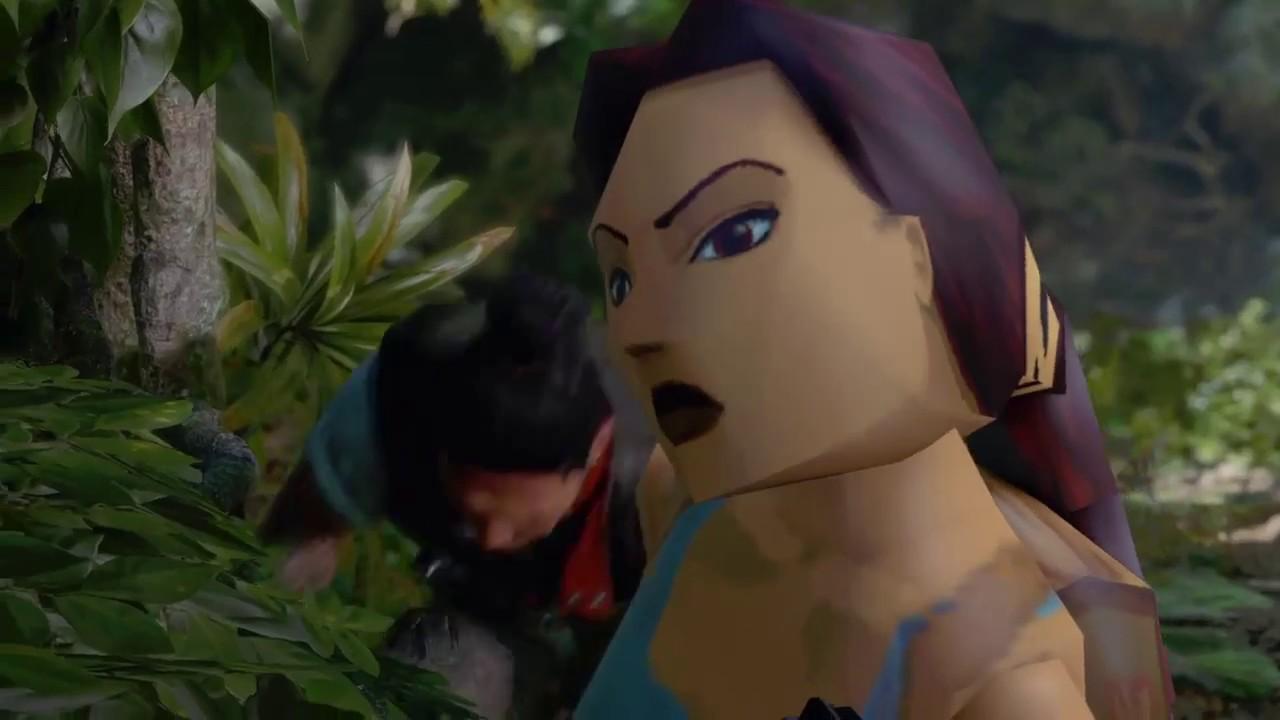 04211edf375 'Shadow of the Tomb Raider' retro skin makes for a hilarious playthrough