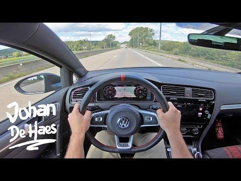 VW GOLF GTI TCR 2.0 TSI 290 HP POV TEST DRIVE