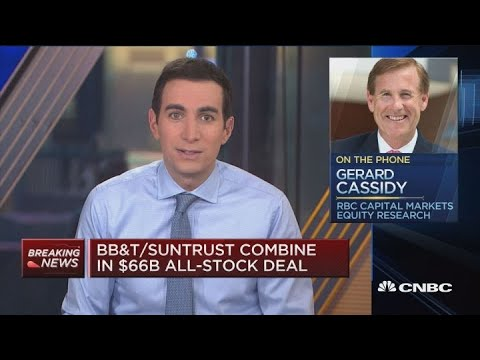 Anticipate More Regional Bank Mergers Like BB&T, Suntrust: Bank Analyst