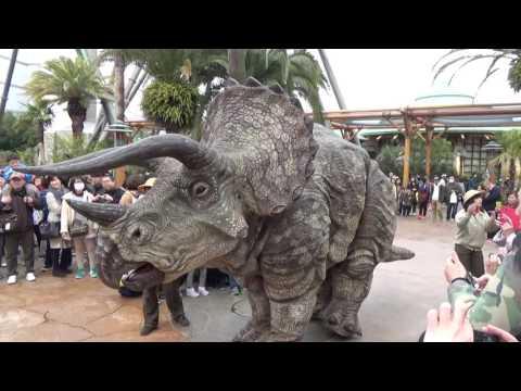 USJ Dinosaur Wonder Experience 4/1 10:30