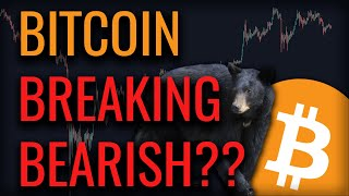 BITCOIN HEADED LOWER??? IS THE RALLY FINALLY OVER??