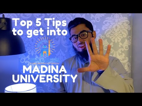 TOP 5 TIPS To Get Into MADINAH UNIVERSITY