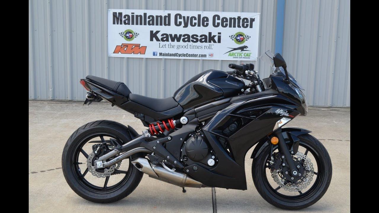 2012 Kawasaki Ninja 650 Black Lowerd Low Seat Height