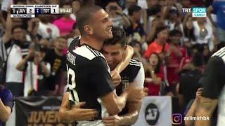 Cristiano Ronaldo'nun golünde Merih Demiral'in sevinci