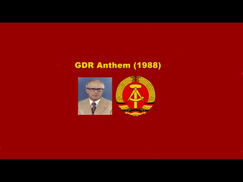 Anthem of the GDR 1988 (Remastered Audio)